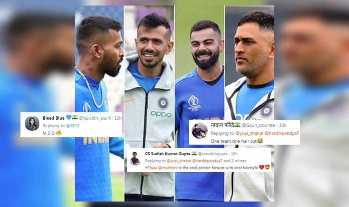 'Ek Number': Fans React to Kohli, Dhoni's New Hairstyle | POSTS