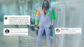 India vs Pakistan: Chris Gayle Gets TROLLED as he Flaunts His Special Ind-Pak Suit Ahead of ICC Cricket World Cup 2019 Clash | SEE PIC