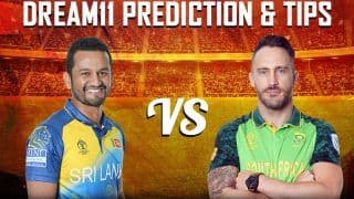 Dream11 Team Prediction Sri Lanka vs South Africa ICC Cricket World Cup 2019 - Cricket Prediction Tips For Today's World Cup Match SL vs SA at Riverside Stadium, Chester-le-Street