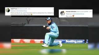 Jason Roy Drops Easy Catch of Mohammed Hafeez During England's ICC World Cup 2019 Clash Against Pakistan, English Opener Gets TROLLED | SEE POSTS