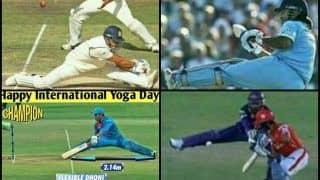 International Yoga Day 2019: MS Dhoni Mysteriously Trends Ahead of India vs Afghanistan ICC World Cup 2019 Match at Southampton | SEE POSTS