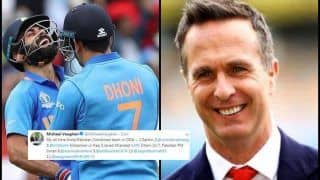 Michael Vaughan Picks MS Dhoni as Captain in His All-Time India/Pakistan Combined XI Ahead of IND vs PAK ICC Cricket World Cup 2019 Match at Manchester | SEE POST