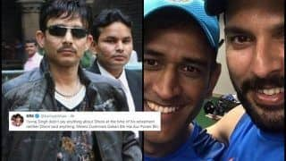 Kamaal R Khan TROLLED as he Talks of Yuvraj Singh, MS Dhoni's Age-Old Alleged Rift During ICC Cricket World Cup 2019 | SEE POST