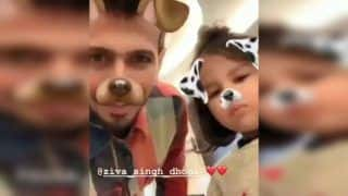 Not Just Rishabh Pant, Yuzvendra Chahal Too Had Fun Time With MS Dhoni's Daughter Ziva Over Snapchat Filter During ICC Cricket World Cup 2019 | WATCH VIDEO