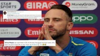 Faf du Plessis TROLLED Over IPL Excuse After Pakistan Beat South Africa in ICC Cricket World Cup 2019 Match at Lords | SEE POSTS