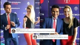 Sanjay Manjrekar TROLLED For His Dance Moves With Host During ICC World Cup 2019 | WATCH VIDEO AND SEE POSTS
