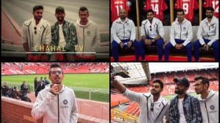 India vs Pakistan: Yuzvendra Chahal's Chahal TV Reaches Old Trafford, Manchester United Along With Dinesh Karthik, Vijay Shanker Ahead of IND vs PAK ICC Cricket World Cup 2019 Clash | WATCH VIDEO