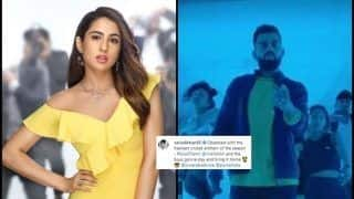 Sara Ali Khan is in Love With Divine's Sock Them, Wishes Virat Kohli-Led Team India For ICC Cricket World Cup | SEE POST