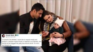 Shoaib Malik Requests Fans Not to Drag Family After Sania Mirza Got Trolled by Fans After India Beat Pakistan During ICC Cricket World Cup 2019 Match | SEE POST