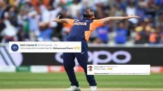 ICC Cricket World Cup 2019: Mohammed Shami Picks Record-Breaking Five-Wicket Haul Against England, Twitter Hails India Pacer | SEE POSTS