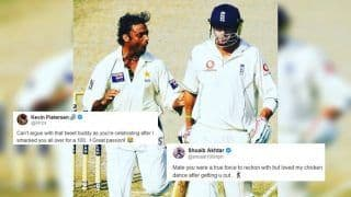 Kevin Pietersen TROLLS Shoaib Akhtar For His Tweet on Sarfraz Ahmed's Pakistan After Loss in ICC World Cup 2019 Opener | SEE POSTS