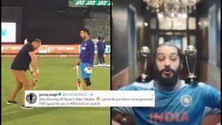 Yuvraj Singh TROLLS Matthew Hayden Over World Cup Titles Ad Ahead of India's ICC CWC 2019 Clash Against Australia | SEE POSTS