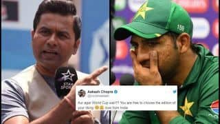 Aakash Chopra's Savage Reply to Pakistan Fan After Australia Defeat in ICC Cricket World Cup 2019 is Unmissable | SEE POST