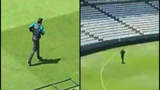 Sarfaraz Ahmed's Video of Running Alone at Lords Goes Viral After Pakistan Beat South Africa in ICC Cricket World Cup 2019 Match | WATCH VIDEO