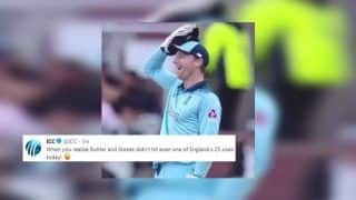 ICC Trolls Jos Buttler, Ben Stokes For Not Hitting Six During England vs Afghanistan ICC Cricket World Cup 2019 Match | SEE POST