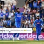 Jasprit Bumrah Removes Openers Hashim Amla, Quinton De Kock During Team India's ICC World Cup 2019 Opener Against South Africa, Sets Twitter on Fire | SEE POSTS