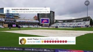 ICC TROLLED After Rain Delays Toss During India vs New Zealand Cricket World Cup 2019 Match at Trent Bridge | SEE POSTS