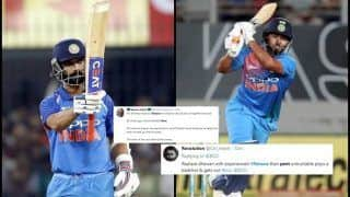 Shikhar Dhawan Gets Injured During ICC Cricket World Cup 2019: Twitter Wants Ajinkya Rahane Over Rishabh Pant as Replacement | SEE POSTS