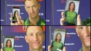 Chris Morris Describes Teammates After Gender Swap Snapchat Filter is Applied on Players Ahead of ICC World Cup 2019 Clash vs India | WATCH VIDEO