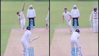 Sachin Tendulkar's Son Arjun Clean Bowls Surrey Batsman With a Peach of a Delivery While Playing For MCC Youth Team | WATCH VIDEO