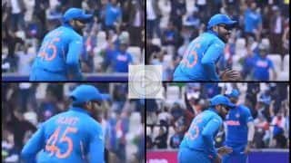 Rohit Sharma Hilariously TROLLED as he Breaks Into Jig After Faf du Plessis' Dismissal During Team India's ICC World Cup 2019 Opener Against South Africa | WATCH VIDEO