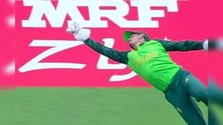 Quinton De Kock Takes Stunning Catch to Send Virat Kohli Packing During Team India's ICC World Cup 2019 Against South Africa | WATCH VIDEO