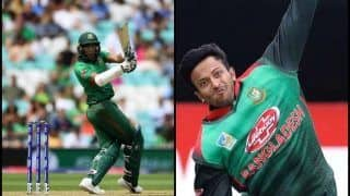Shakib al Hasan Joins Shahid Afridi, Jacques Kallis to Become Fifth Allrounder to Score 5000 Runs And 250 Wickets During Bangladesh's ICC World Cup 2019 Opener Against South Africa