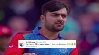 Rashid Khan TROLLED For Bowling Most Expensive Spell in History of ICC Cricket World Cup 2019 During England vs Afghanistan | SEE POSTS