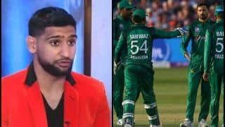 Boxer Amir Khan Makes a Mistake, Says Pakistan's ICC World Cup 2019 Chances Depend on 'Match Fixing' Ahead of England Tie | WATCH VIDEO