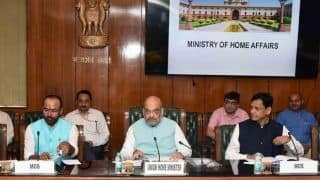 Union Home Minister Amit Shah Takes Stock of Internal Security Situation