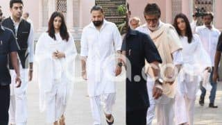 Amitabh Bachchan's Secretary Passes Away at 77, Actor Attends Funeral With Abhishek Bachchan, Aishwarya Rai Bachchan