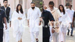 Amitabh Bachchan's Secretary Passes Away at 77, Actor Attends Funeral With Abhishek Bachchan, Aishwarya Rai Bachchan