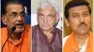 केंद्र में मंत्री बनने से चूके मनोज सिन्हा, राधामोहन सिंह और राज्यवर्द्धन राठौर को मिल सकता है नया काम
