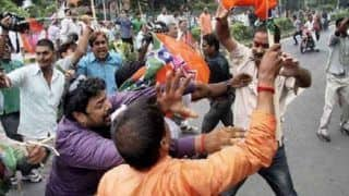 Basirhat Violence: BJP Workers Block Railway Tracks at Bhyabla; TMC Says 'Law And Order Under Control'