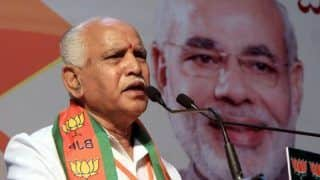 Give up Power if You Can't Rule, Yeddyurappa Tells Cong-JD-S Coalition