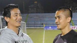 Bhaichung Bhutia Congratulates Sunil Chetri For Becoming Most-Capped Indian Footballer