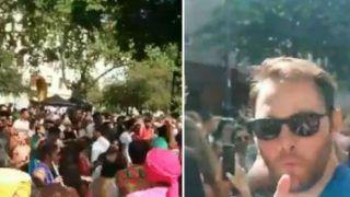 Germans Dance to Bhojpuri Song 'Lollipop Lagelu', 'Teri Aakhya Ka Yo Kajal' at Karneval Der Kulturen Festival