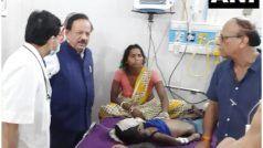 बिहार में मस्तिष्क ज्वर से 93 बच्चों की मौत, हर्षवर्द्धन ने दिया मदद का आश्वासन
