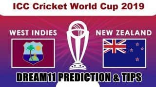 Dream11 Team Prediction West Indies vs New Zealand ICC Cricket World Cup 2019 - Cricket Prediction Tips For Today's Match WI vs NZ at Emirates Old Trafford, Manchester