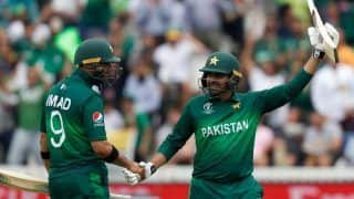 CWC'19 Report: Haris Sohail Powers Pakistan To Challenging Total Against South Africa At Lord's