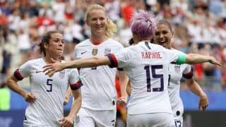 US Edge Past Spain To Book Quarters Berth In FIFA Women's Wolrd Cup 2019
