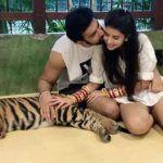 Newlyweds Charu Asopa, Rajeev Sen Trolled For Posing With Sedated Tiger During Pre-Honeymoon in Thailand