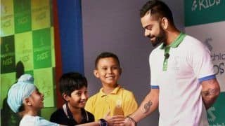 Children Take Over Virat Kohli's Press Conference Ahead Of ICC World Cup 2019 Match Between India, England | WATCH VIDEO