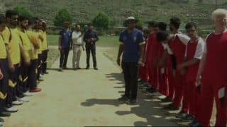 Jammu And Kashmir Witness Blind Cricket For First Time