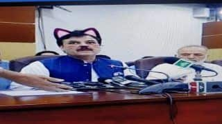 Pakistan Govt Live Streams Presser With Cat Filter on, Twitter Erupts in Laughter