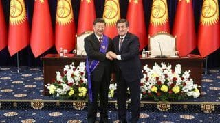 Chinese President Xi Jinping Awarded Kyrgyzstan's Highest Honour