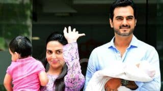 Pregnant Esha Deol Gives A Shout Out To Mumbai Rains With A
