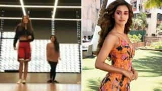 Disha Patani Sets The Internet on Fire as She Flaunts Her Sexy Dance Moves - Watch Viral Video