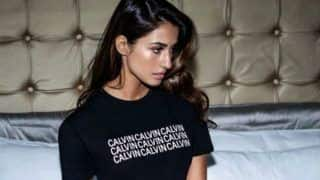 Disha Patani Looks Smoking Hot in Black Top And Calvin Klein Brief as She Strikes Sultry Pose in Her Latest Picture