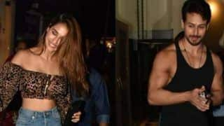 Bollywood Sizzler Disha Patani Mobbed by Fans Outside Mumbai Restaurant, Tiger Shroff Comes to Her Rescue